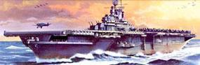 Hasegawa USS Essex Plastic Model Aircraft Carrier Kit 1/700 Scale #49707