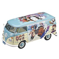 Hasegawa VW Type 2 Delivery Van Egg Girl Winter Paint Plastic Model Vehicle Kit 1/24 Scale #52152