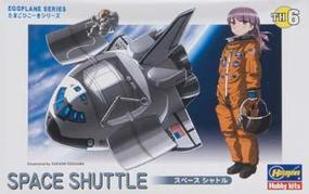 Hasegawa Egg Plane Space Shuttle Plastic Model Airplane Kit #60106