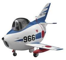 Hasegawa Egg Plane F-86 Sabre Blue Impulse Plastic Model Airplane Kit #60126