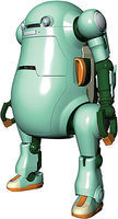 Hasegawa MechatroWeGo No.1 Usumidori Light Green Science Fiction Plastic Model 1/20 Scale #64512