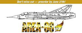Hasegawa Area-88 J35J Draken Shin Kazama Plastic Model Airplane Kit 1/48 Scale #64737