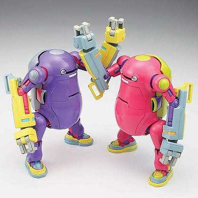 Hasegawa 1/35 MechatroWeGo NO.7 Power Arm Purple/Pink (2)