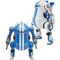 Hasegawa Mechatrowego No.8 Sport White/Blue (2 Kits) Plastic Model Kit 1/35 Scale #64757