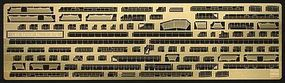 Hasegawa USS GAMBIER BAY P/E PARTS Plastic Model Ship Accessory 1/350 Scale #72144