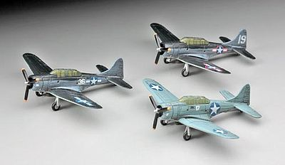 Hasegawa U.S. Navy Carrier Based Aircraft Set -- Plastic Model Airplane Kit -- 1/350 Scale -- #72147