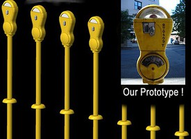 Hi-Tech N Yellow Parking Meters (14)