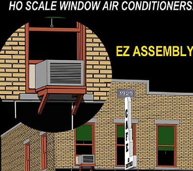 Hi-Tech Details HO Tan Window Air Conditioners (4)