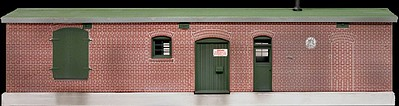 Hi-Tech Details HO Office & Lube Oil Storage Building Kit