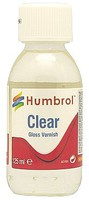 Humbrol 125ml. Bottle Clear Gloss Varnish