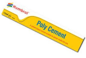 Humbrol 12ml. Poly Cement Tube