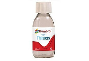 Humbrol 125ml. Bottle Acrylic Thinner