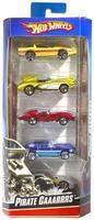 Hot-Wheels Hot Wheels 5-Car Gift Pack Assorted Diecast Model Car 1/64 Scale #1806