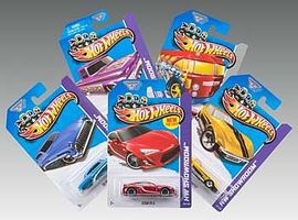 Hot-Wheels Hot Wheels Basic Car Assortment 2013 (72) Diecast Model Car 1/64 Scale #l2593