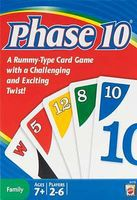 Hot-Wheels Phase 10 Card Game