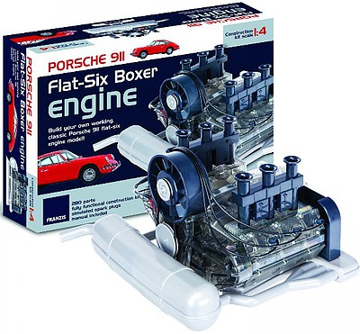 Haynes Visible Working Porsche 911 Flat-Six Boxer Engine w/Electric Motor & Sound (1/4 Scale)