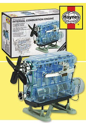 Haynes Visible Working Internal Combustion Engine w/Electric Motor & Sound (7''hx10.6''wx5.5''d)