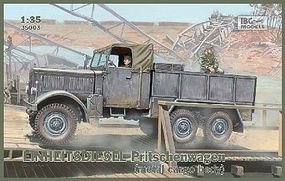 IBG Einheits Diesel Metal Type Cargo Body Plastic Model Military Truck Kit 1/35 Scale #35003