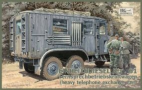 IBG Einheits Kfz61 German Communications Van Plastic Model Military Truck Kit 1/35 Scale #35004