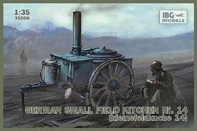 IBG WWII Hf14 German Small Field Kitchen Plastic Model Military Vehicle Kit 1/35 Scale #35008