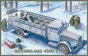 IBG Bussing-Nag 4500S Stake Body Supply Truck Plastic Model Military Truck Kit 1/35 #35012