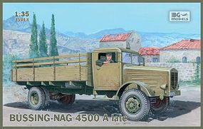 IBG Bussing-Nag 4500A Late Stake Body Truck Plastic Model Military Truck Kit 1/35 Scale #35013