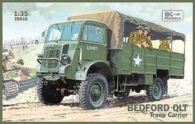 IBG Bedford QLT Troop Carrier Truck Plastic Model Military Truck Kit 1/35 Scale #35016