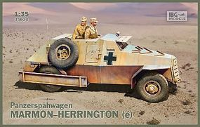 IBG Marmon-Herrington 9(e) PzSpahWg Plastic Model Military Vehicle Kit 1/35 Scale #35024