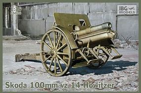 IBG Skoda 100mm vz 14 Howitzer Gun Plastic Model Military Weapon Kit 1/35 Scale #35026