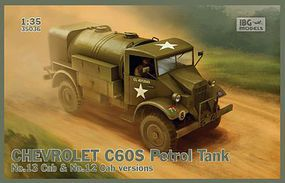 IBG Chevrolet C60S Petrol Tanker Plastic Model Military Vehicle Kit 1/35 Scale #35036