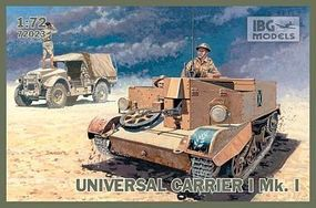 IBG Universal Carrier I Mk I Plastic Model Personnel Carrier Kit 1/72 Scale #72023