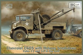 IBG 1/72 Chevrolet C60S Cab w/Holmes Breakdown Wrecker (No11 & No13 Cab Versions)