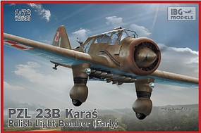 IBG 1/72 PZL23B Karas Early Polish Light Bomber