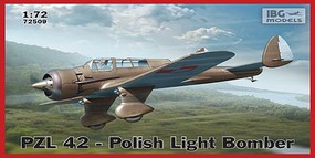 IBG 1/72 PZL42 Polish Light Bomber (New Tool)