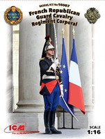 ICM 1/16 French Republican Guard Cavalry Regiment Corporal (New Tool)
