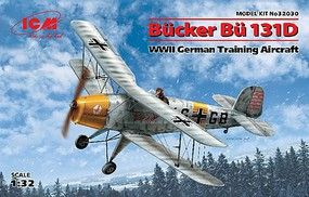 ICM 1/32 WWII German Bucker Bu11D Training Aircraft (New Tool)