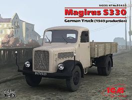ICM Magirus S330 1949 German Truck Plastic Model Military Vehicle Kit 1/35 Scale #35452