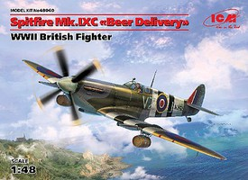 ICM 1/48 WWII British Spitfire Mk IXC Beer Delivery Fighter