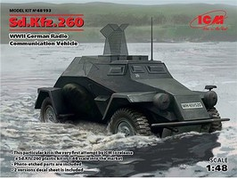 ICM 1/48 WWII German SdKfz 260 Radio Communication Vehicle
