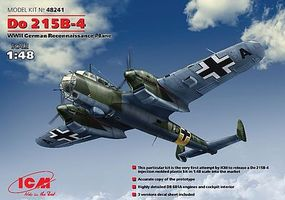 ICM Do215B4 WWII German Recon Aircraft Plastic Model Airplane Kit 1/48 Scale #48241