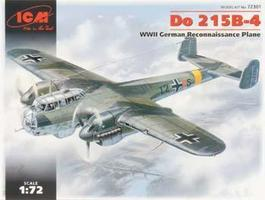 ICM WWII Do215B4 German Long-Range Photo-Recon Aircraft Plastic Model Airplane Kit 1/72 #72301