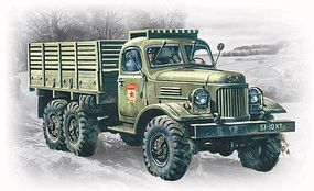 ICM ZIL157 Soviet Army Truck Plastic Model Military Truck Kit 1/72 Scale #72541