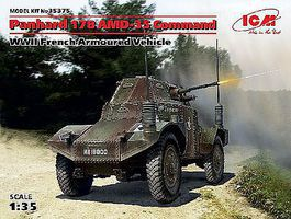 ICM Panhard 178 AMD-35 Command Plastic Model Military Vehicle Kit 1/35 Scale #35375