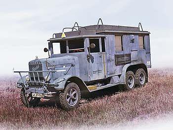 WWII German Radio Com Truck