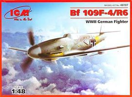 ICM 1/48 WWII German Messerschmitt Bf109F4/R6 Fighter
