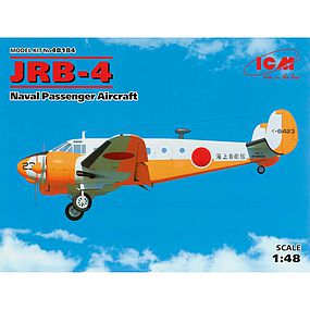 ICM JRB-4 Naval Passenger Aircraft Plastic Model Airplane Kit 1/48 Scale #48184