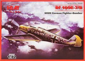 ICM 1/72 WWII German Messerschmitt Bf109E7/B Fighter/Bomber