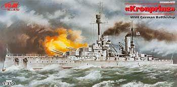 ICM Models 1/350 Kronprinz German Battleship