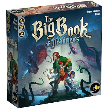 Iello Games The Big Book of Madness Game