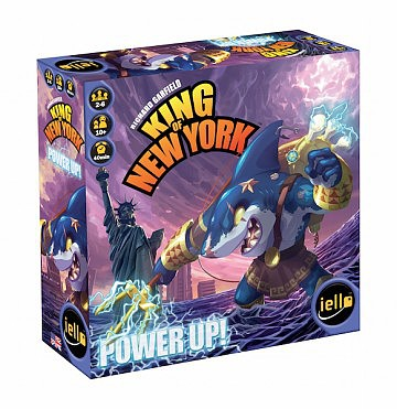 Iello Games King of New York- Power Up Expansion to base game